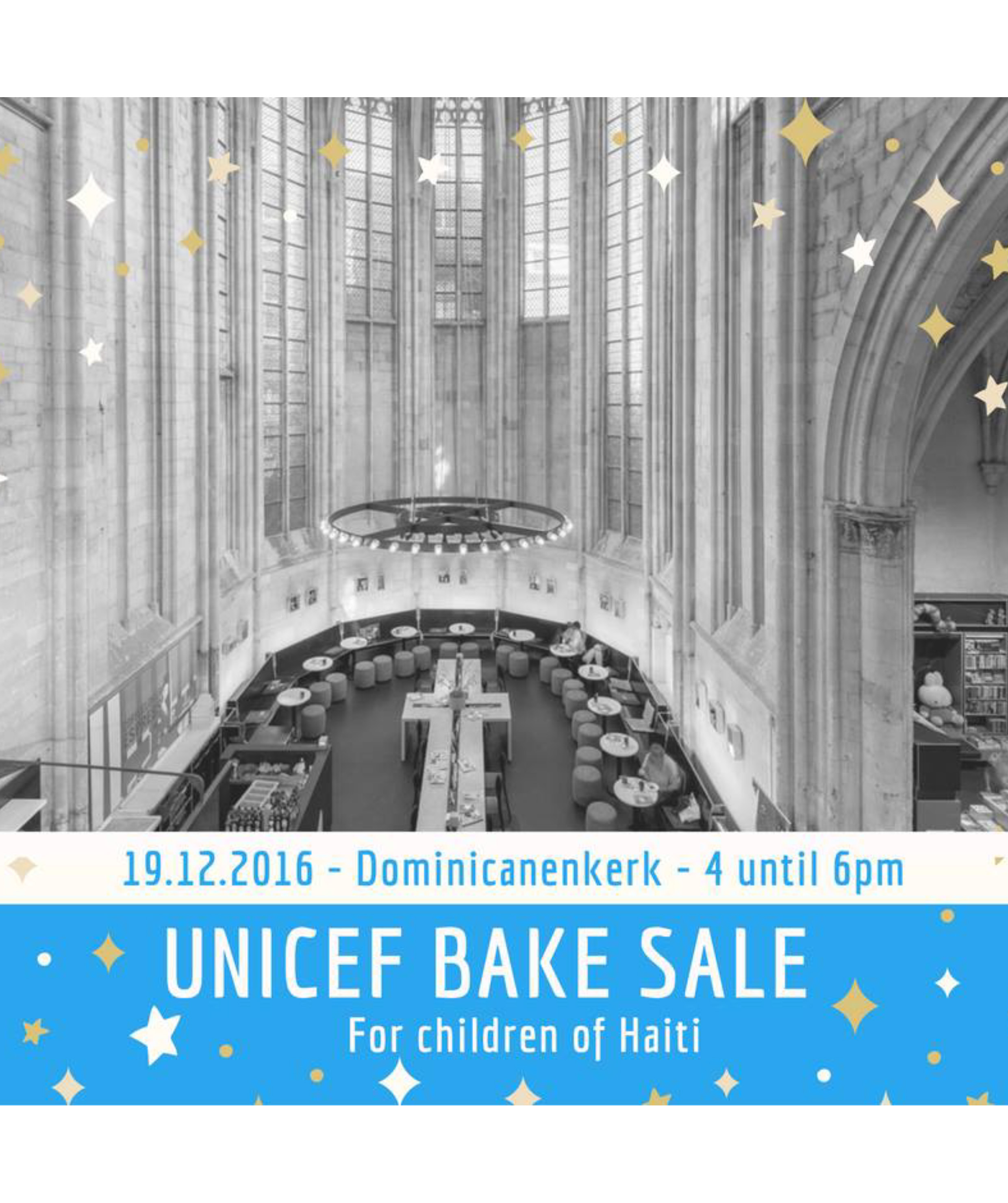 Bake sale Unicef studentteam