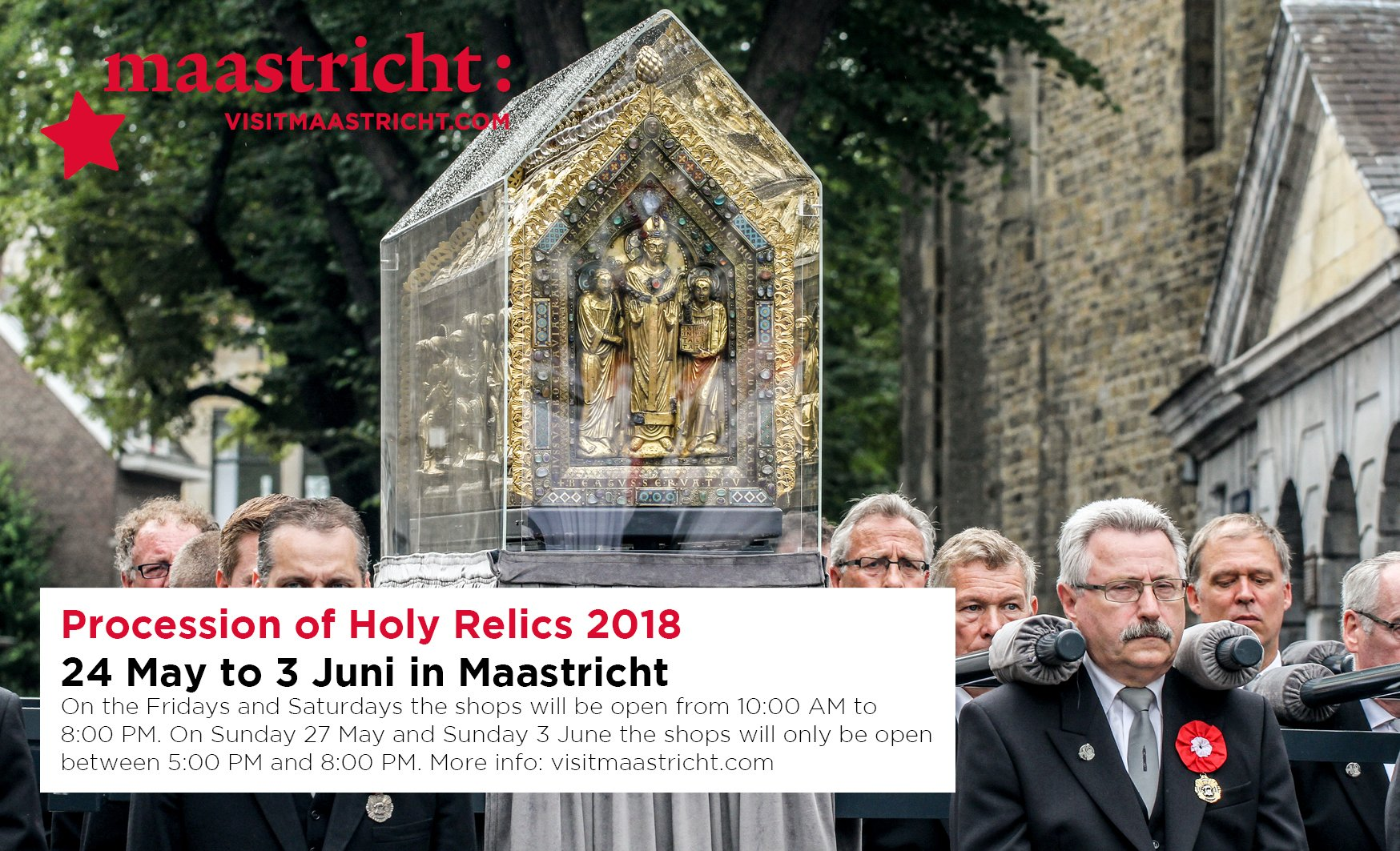 Procession of Holy Relics, Maastricht 2018