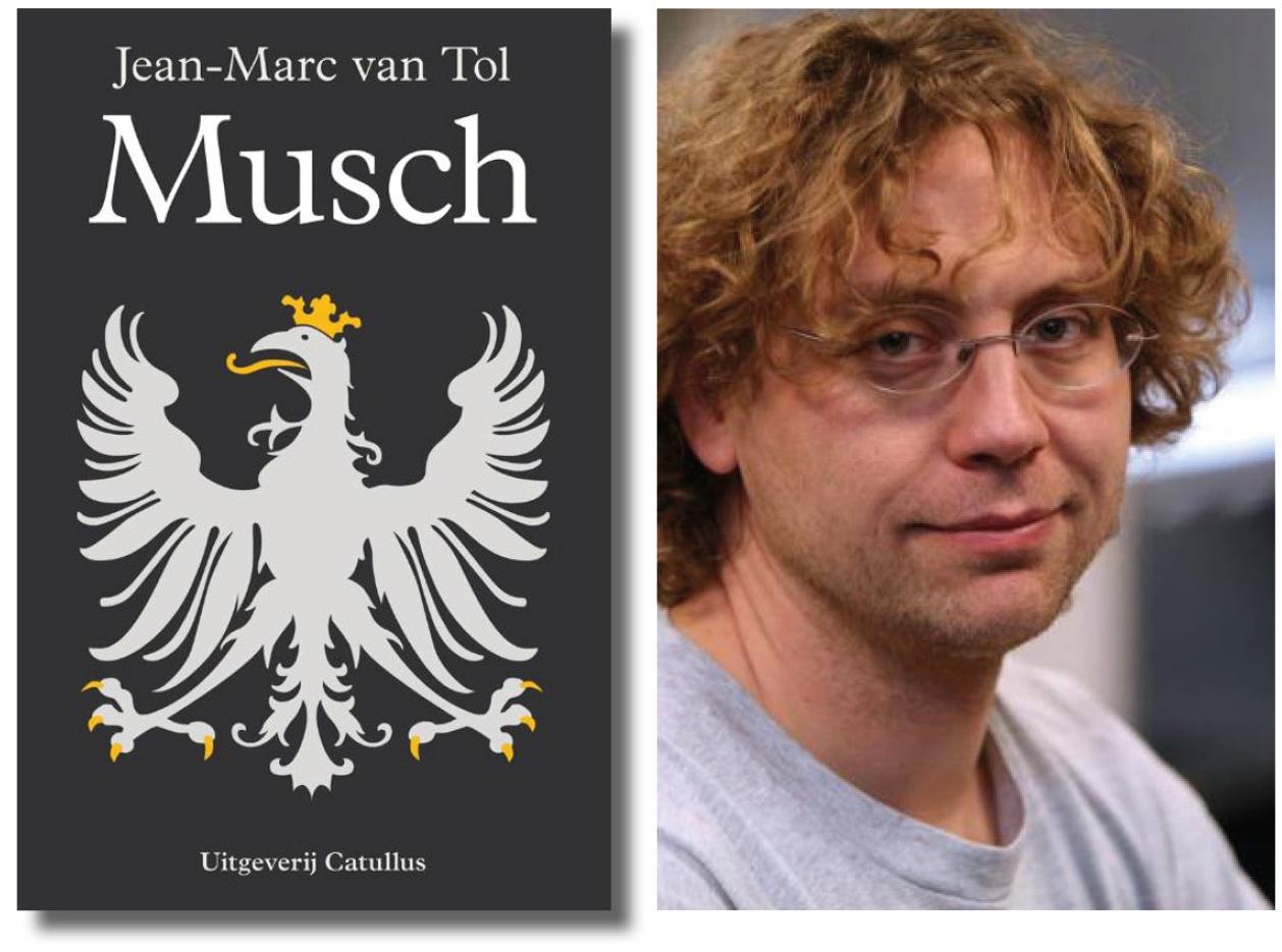 Signeersessie Jean-Marc van Tol 'Musch'