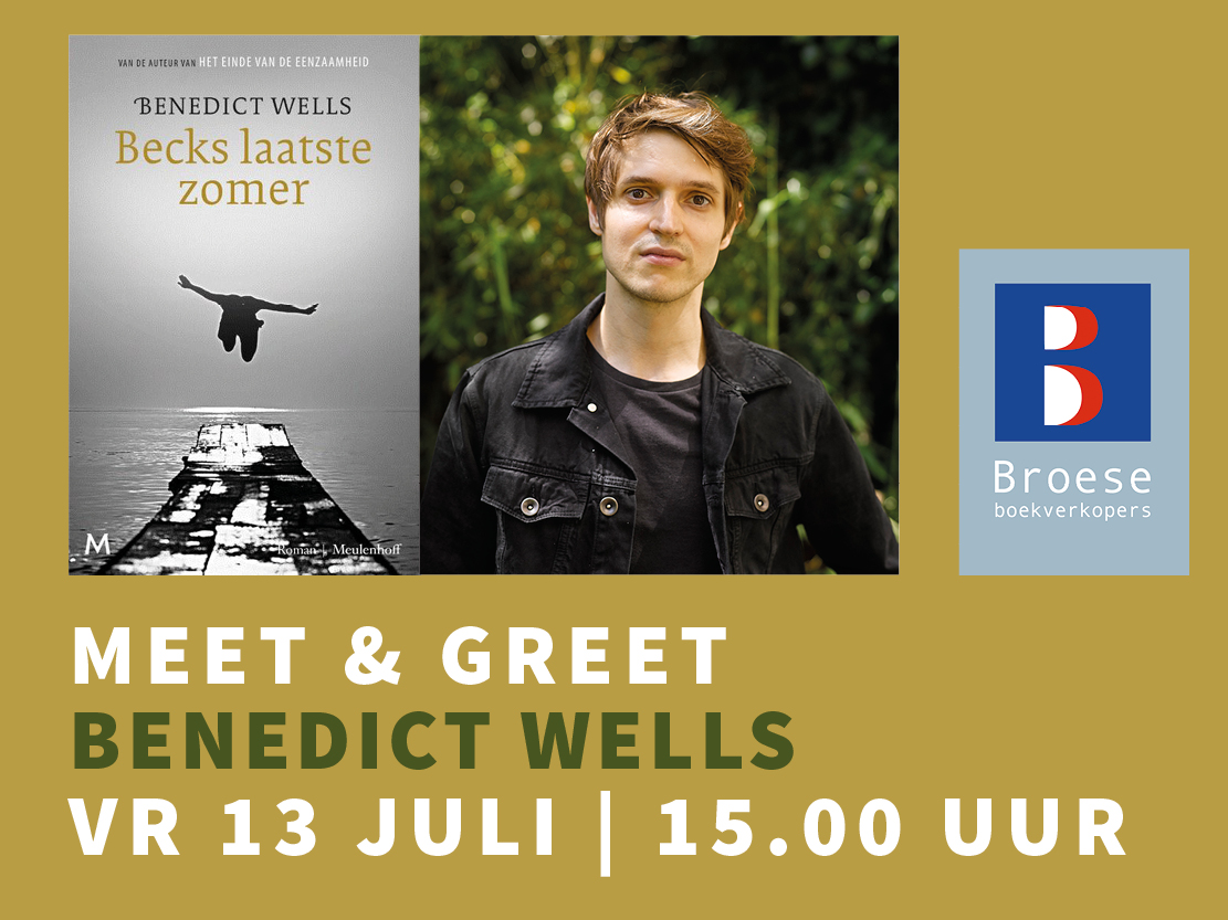 Meet & Greet Benedict Wells