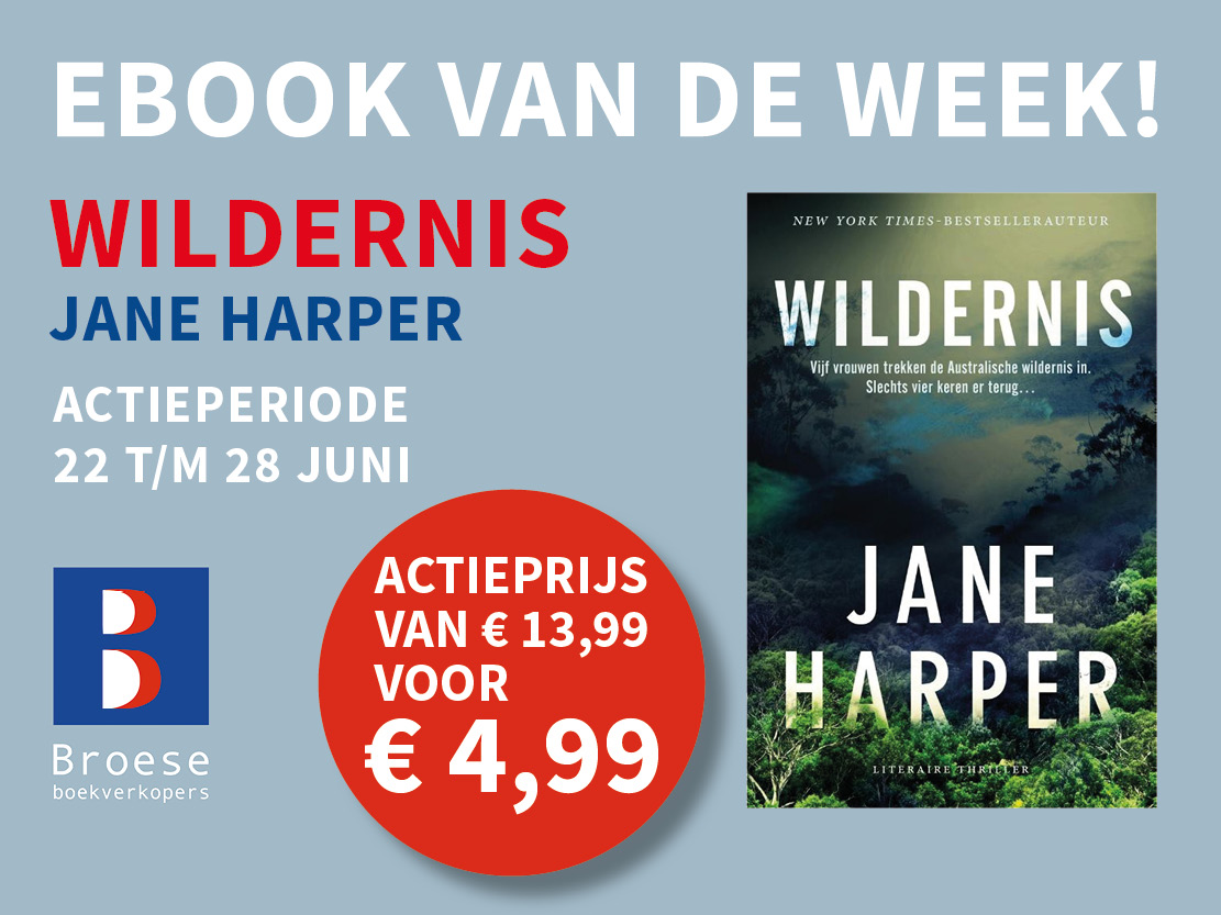 Ebook van de week: 'Wildernis' van Jane Harper